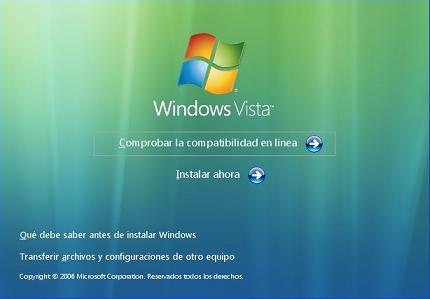 Solucion Cuando No arranca windows vista